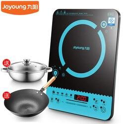 22%  inteligentna indukcyjna kuchenka elektryczna 2100w ultra cienka mini kuchenka indukcyjna s wodoodporna z żelaznym wokiem i garnek do zupy 9 biegów