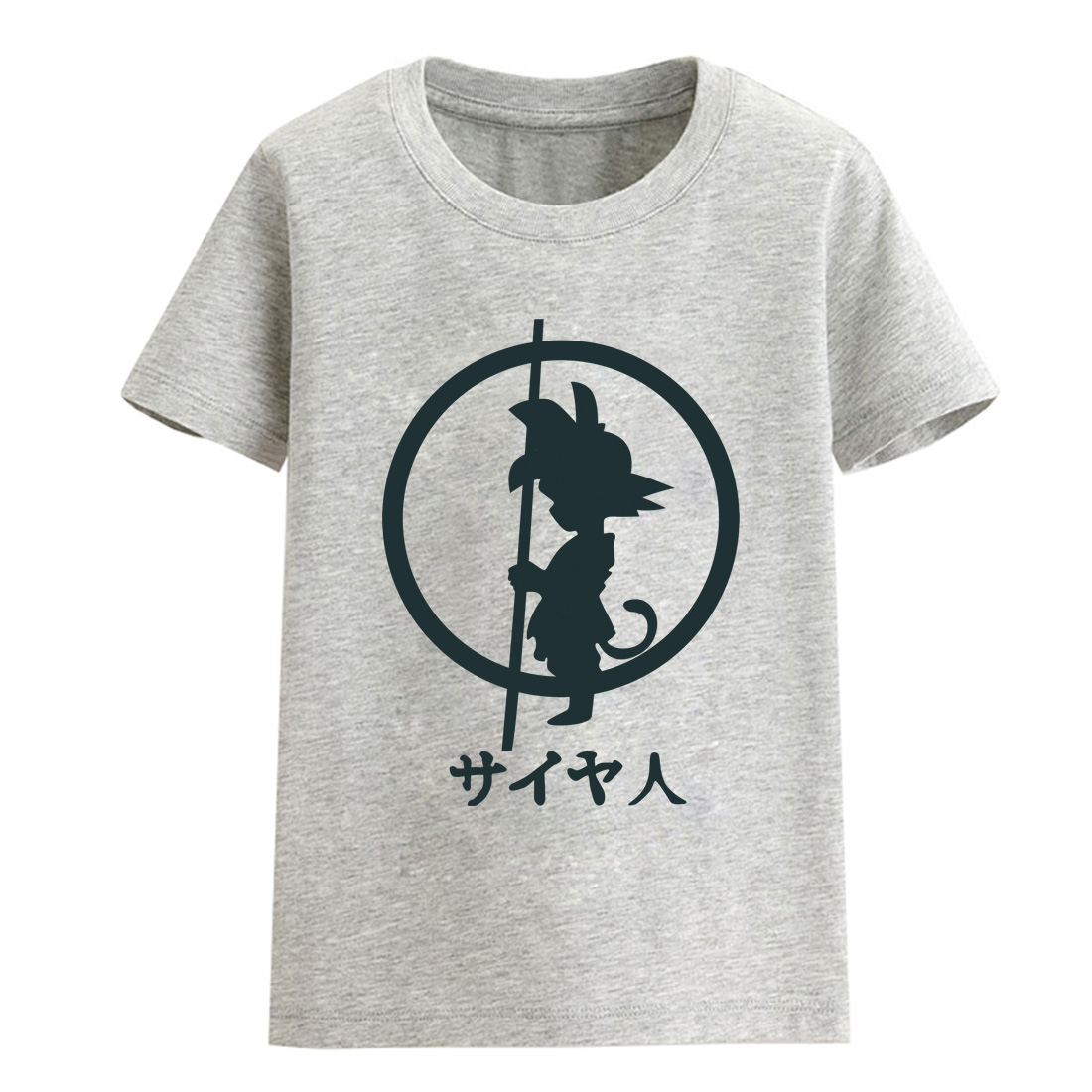 Hot Sale Anime Dragon Ball Z Goku Print 2018 Summer Child T-shirts For Girls Brand Clothing Cotton T-shirt For Baby Boy Clothes