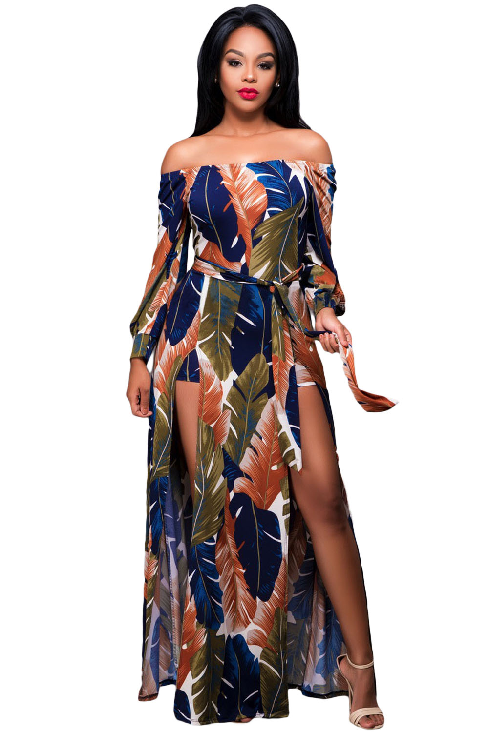 Buy maxi romper dress long sleeve and get free shipping on AliExpress.com fe471b8c2108