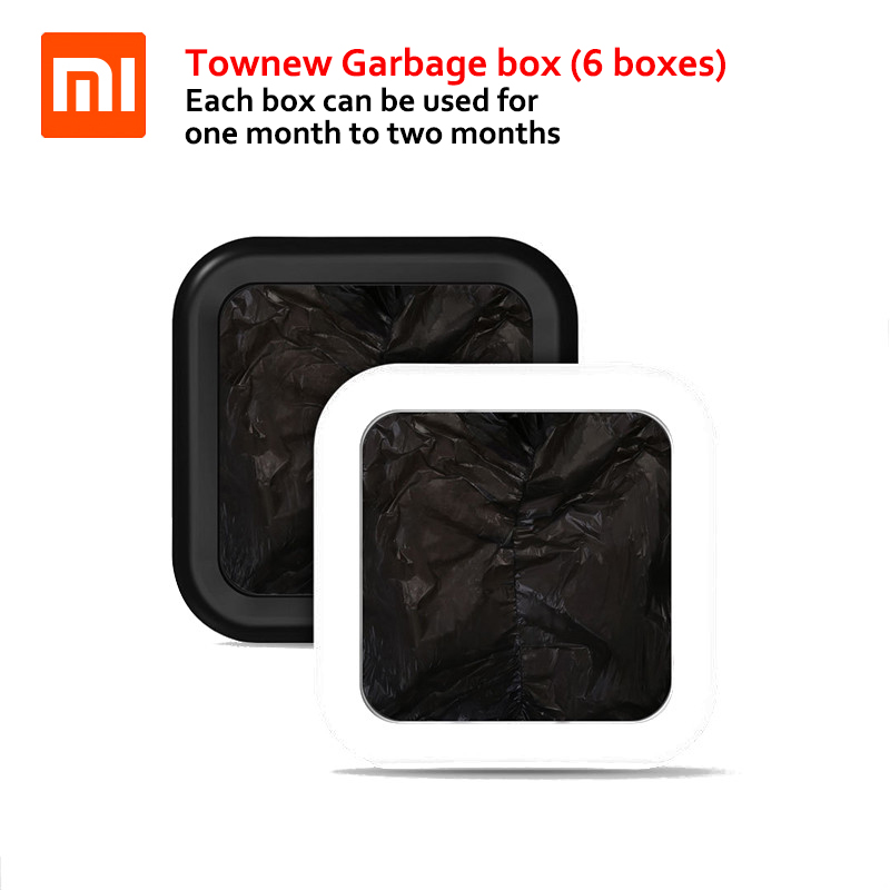 6 Boxes Xiaomi Garbage Bag for Townew T1 Smart Trash Can Special Garbage Bag Large Capacity Daily Life Helper