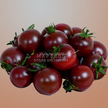 Rare Black Big Tomato Seeds Cherry Russian Heirloom Vegetable Seeds 20pcs/bags