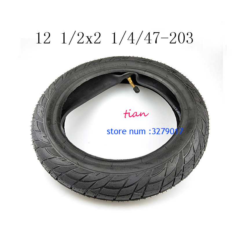 Schwalbe HS140 47-203 12 1//2 x 1.75 - Push Chair Pram Tyre With K-Guard