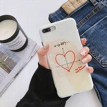 Coordinate Love AppleX IPhone7plus/8/6s/6plus Anti-drop Blu-ray Phone Case