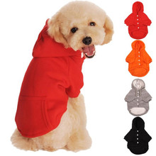 2017 S/M/L/XL/XXL Dog Hoodies Autumn And Winter Fleece Sweater Pet Clothing For Big Medium Small Dogs 30%