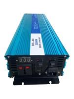 Full Power 2000W Pure Sine Wave Inverter,DC 12V/24V/48V To AC 110V/220V,off Grid Solar Inverter With Battery Charger And UPS