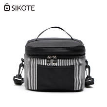 SIKOTE Portable Thermal Lunch Bags for Women Kids Men Multifunction Food Picnic Cooler Box Insulated Tote Bag Storage Container(China)