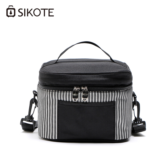 b787a7dca27d SIKOTE Portable Thermal Lunch Bags for Women Kids Men Multifunction Food  Picnic Cooler Box Insulated Tote Bag Storage Container
