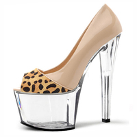 D 213 sexy high heeled shoes and platform shoes 17 cm strip crystal toe shoes sexy shoes