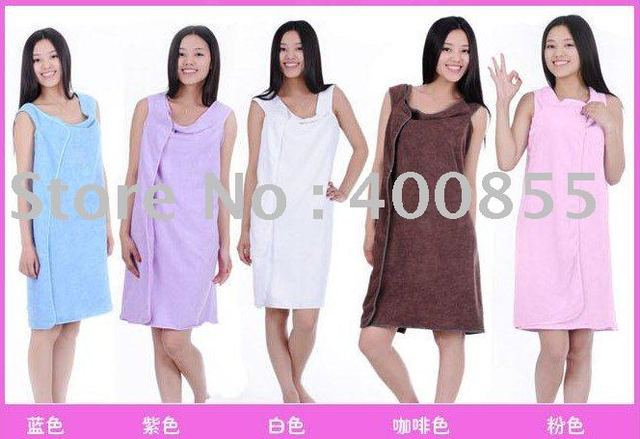 New arrival! Superfine fibre Magic bathrobe,bath towel,Body towel.10pcs