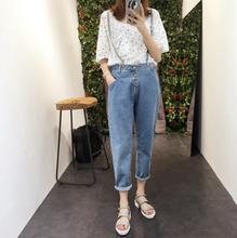 Jumpsuits – Hot Sale Jeans Female Students Elastic Waist Removable Nine Denim Harlan Straps 2017 hot sale free shipping women