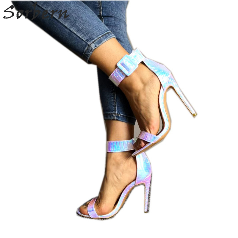 Sorbern Snake Holographic Sandal Shoes Woman Fancy Women Hell Shoes Size 9 Heels Princess Shoes Plus Size Stiletto MulticolourSorbern Snake Holographic Sandal Shoes Woman Fancy Women Hell Shoes Size 9 Heels Princess Shoes Plus Size Stiletto Multicolour