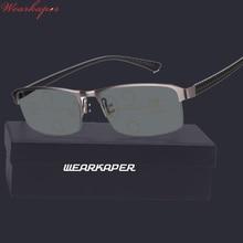 WEARKAPER progresywne okulary wieloogniskowe okulary przejściowe okulary do czytania z fotochromem męskie punkty do czytnika w pobliżu dalekiego zasięgu