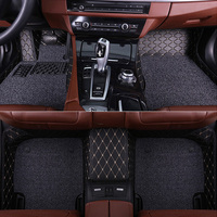 SUNNY FOX car floor mats for Peugeot 206 207 2008 301 307 308sw 3008 408 508 all weather waterproof car styling liners