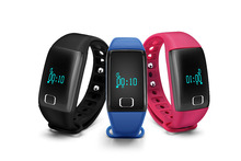 2016 T1 Smart Wristbands Bluetooth Heart Rate Touch Bracelet Health Monitoring Pedometer waterproof for andriod Smart