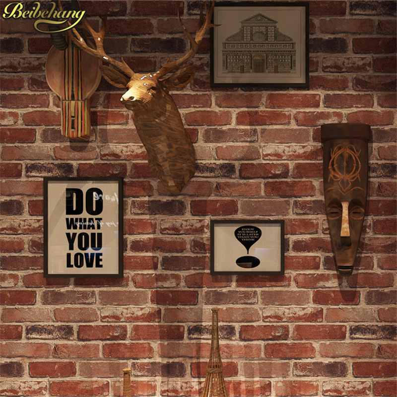 beibehang Modern 3D stone brick wallpaper for wall design TV background wall PVC wall paper waterproof papel de parede tapete beibehang modern 3d wall paper for walls 3 d stone brick design background wall wallpaper roll papel de parede 3d papel parede