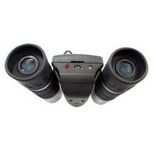 Free Ship digital video camera binoculars 640*480 30FPS 107@1000m long range view digital telescope TF Card reader AA battery