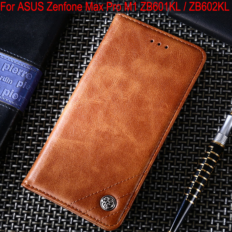 Case for ASUS Zenfone Max Pro M1 ZB601KL ZB602KL Luxury Leather Flip cover Case with Stand Card Slot funda coque Without magnetsCase for ASUS Zenfone Max Pro M1 ZB601KL ZB602KL Luxury Leather Flip cover Case with Stand Card Slot funda coque Without magnets