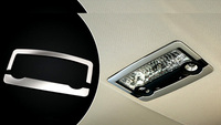 Rear Reading Light Lamp Cover Trim 2pcs For BMW X6 E71 2009 2010 Car Accessories Car