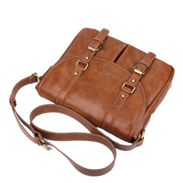 Leather Men Bag Casual Business Leather Mens Messenger Bag Fashion Men's Crossbody Bag 5