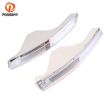POSSBAY Car Front Bumper Turn Signal Lights Without Bulbs for VW Passat 3C B6 2005 2006 2007 2008 2009 2010 Clear Lens цена 2017