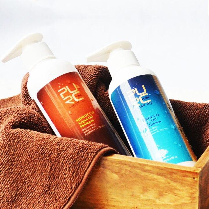 Fas yağı saç şampuanı saç kremi saç maskesi için argan yağı - Saç Bakımı ve Şekillendirme - Fotoğraf 3