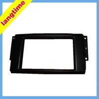 Car refitting DVD frame,DVD panel,Dash Kit,Fascia,Audio frame for LandRover Freelander/discovery 07 11/Ranger rover 05 09,2 din