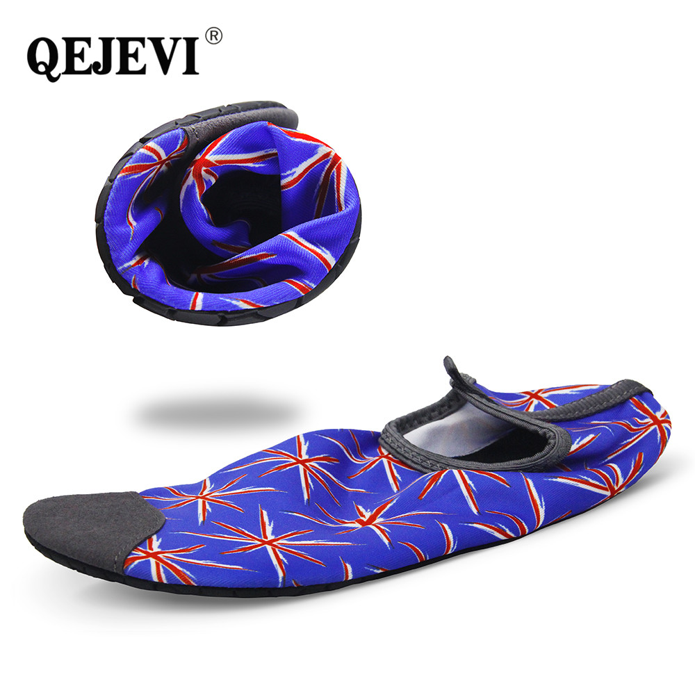 73a9e0562b97 2018 QEJEVI Aqua Beach Women Men Water Shoes Swimming Summer Cool Wet  Rivers Footwear Barefoot Yoga Skin Shoe for Mens Woman-in Upstream Shoes  from Sports ...