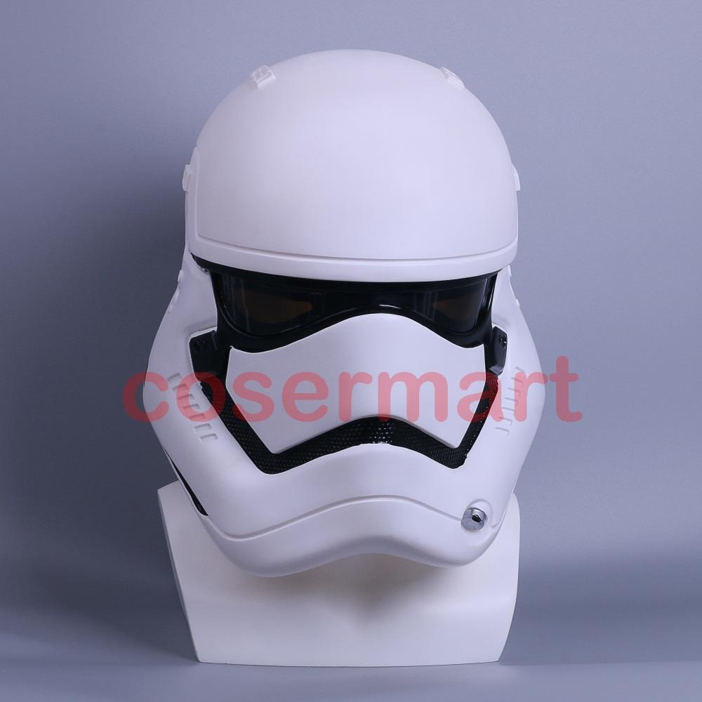 Star Wars The Force Awakens Stormtrooper Deluxe Helmet Adult Party Halloween Mask (6)