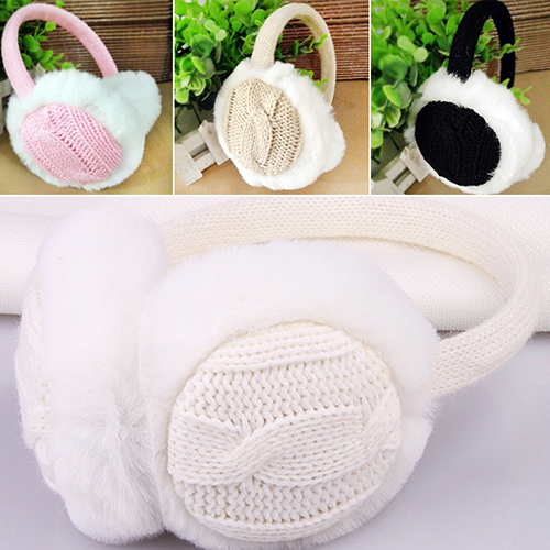 Women Girl Winter Warm Kint Earmuffs Earwarmers Ear Muffs Earlap Warmer Headband
