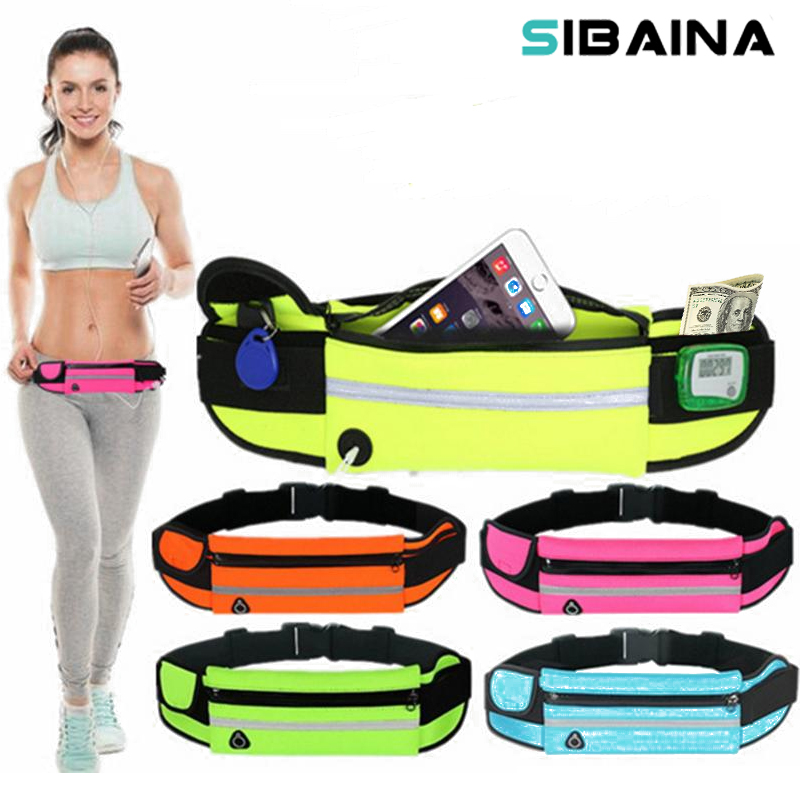 Case For Iphone 5S 6 6s 7 Plus xiaomi Redmi note 4X 3 pro Meizu M3S M5 Note 5 Running Sports Waist Bag Packs Phone Belt Pouch