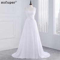 2016 Backless V Neck Wedding Dresses Boho Beach A Line Greek Style Vestidos Sleeveless Vestido De