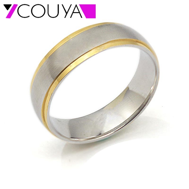 Forever Wedding Rings Gold Color Lovers Custom Made Ring Jewelry For Women  Men Name Bijoux 2016