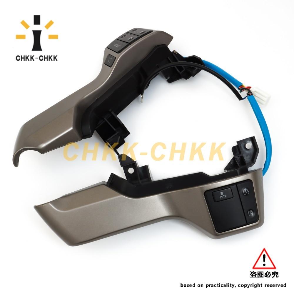 ФОТО Steering Wheel Switch Control Button Assy 84250-60160 For Toyota Land Cruiser Prado 2009-2016  84250 60160