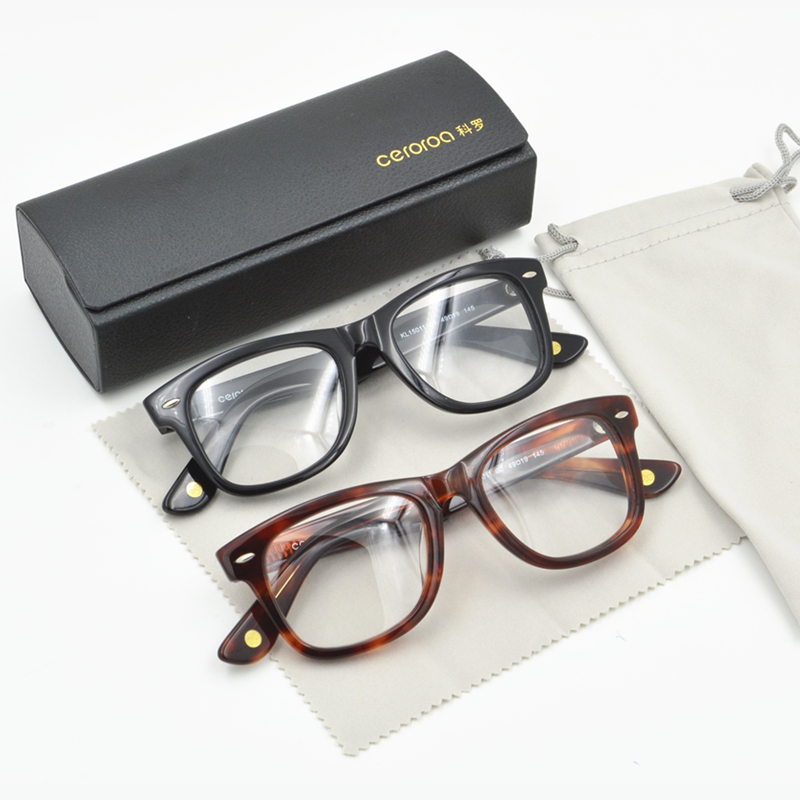 black tortoise vintage optical eye glasses frames for women and men oliver peoples big frame myopia