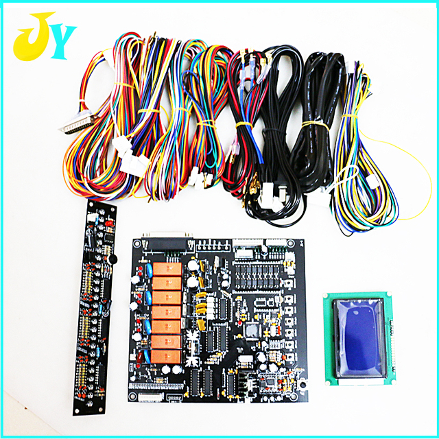 High quality crane game PCB with English version LCD display wire