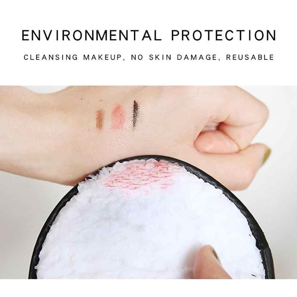 Makyaj Çıkarıcı havlu Yüz Temizleme Bezi Pedleri Peluş Puf Saf Doğal Hiçbir Kimyasal, Makine Yıkanabilir Yumuşak Moda Yeni