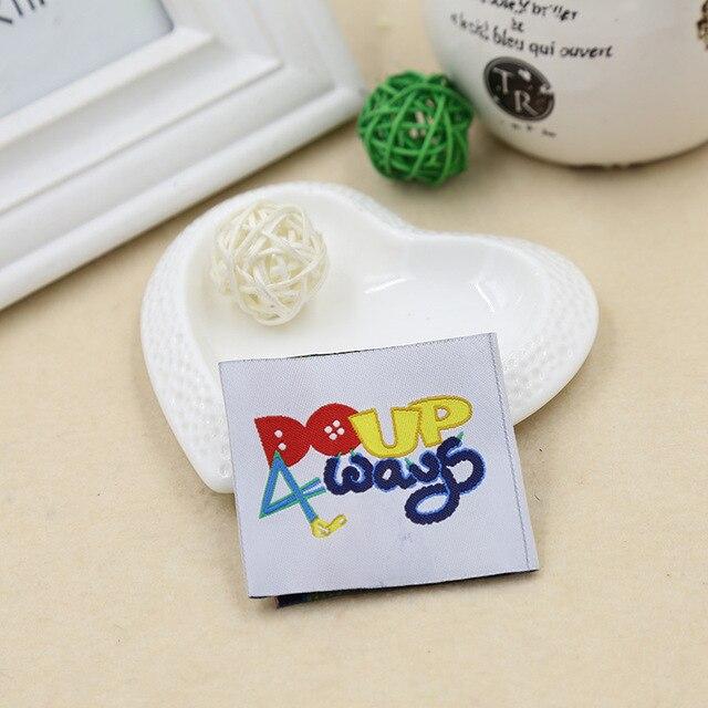 Custom label label trademark ribbon pattern sewing accessories ...
