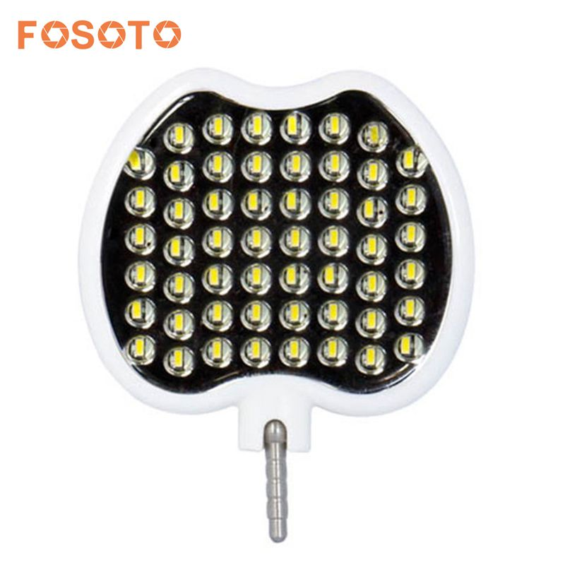 fosoto FT-54 Mini LED Video Light Warm White Light Selfie Enhancing LED Ring Light Lamp Flash For Cell Phone Table Camera стоимость
