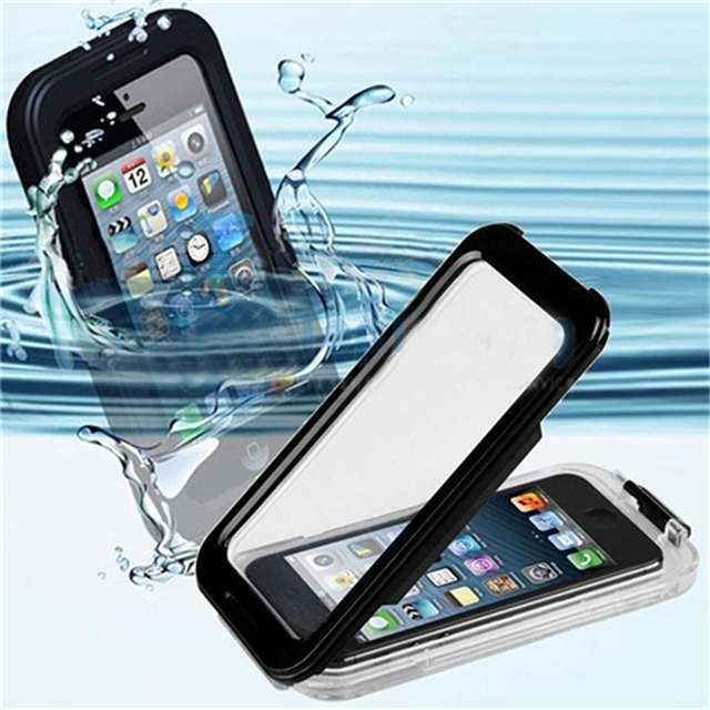 c4383fbf04a Waterproof Cell Phone Cases Coque for Iphon Iphone 5 5s I Phone5 Water  Proof Case Fundas
