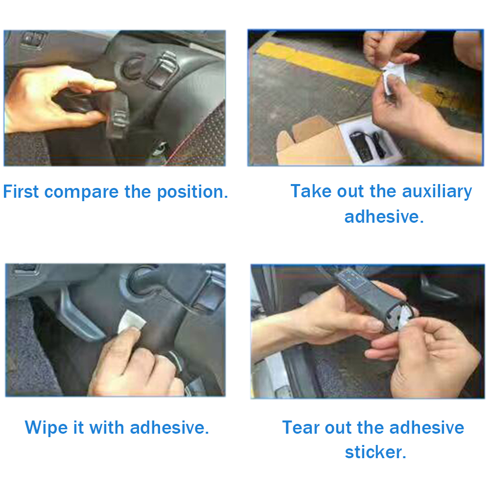 small carbon fibers high-end AKDSteel Car Steering Wheel Trim ABS Control Button Frame Decoration Cover for Ford Focus 2019 Styling Accessories Large