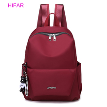 HIFAR Oxford Women Backpack Fashion Female Small Bagpack Schoolbag for Teenager Girls Multifunction 2019 Sac A Dos