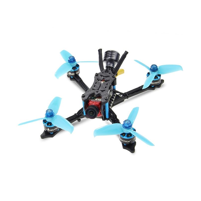 HGLRC Arrow3 152mm de 3 pulgadas F4 OSD 4S/6 S Mini FPV carreras Dron PNP BNF con 45A CES Caddx Ratel 1200TVL Cámara RC Quadcopter