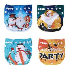 2018 washable cloth diaper cover waterproof halloween style