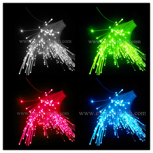 цена на High quality 1.5mm diameter 700m/roll bare PMMA fiber optic cable end glow for decoration lighting,plastic optal fiber cable