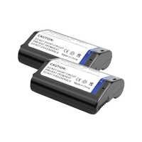 2 pièces 11.1 V 2400 mAh Li-ion EN-EL4A EN-EL4a ENEL4 EN EL4 Batterie pour Nikon D3S D2H D2Hs D3 D2Xs D2X D300 F6 D2Z D3X F6 Poignée L15