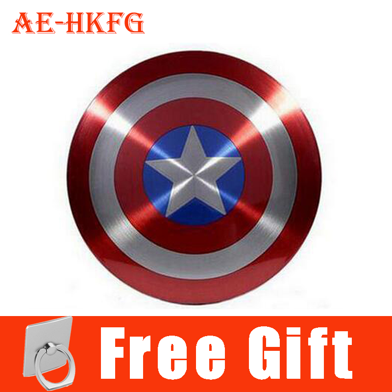 4c7bc855c3b62b Avengers Captain America Shield Power Bank Charger USB 6800mAh for all  mobile phone with Package free shipping-in Power Bank from Phones & ...