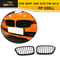 3 Series F30 Styling PP Auto Mesh Grille Grille For BMW 330i 325i F30 2013