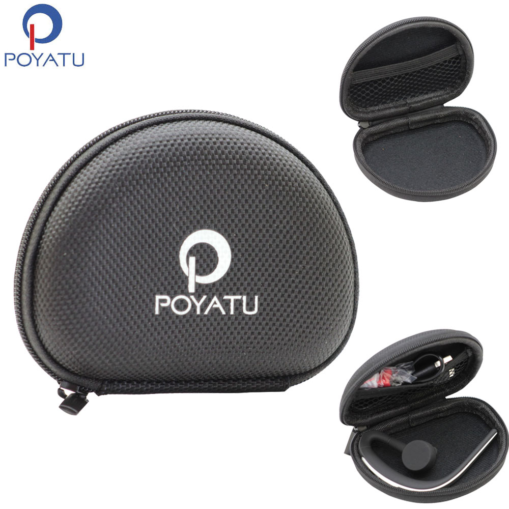 Poyatu Portable Earphone Case Bag Storage For Jabra Storm Sport Pace Pulse Step Rox Halo Free Wireless Bluetooth Headset Earbud Earphone Case Earphone Storagecase Earphone Aliexpress