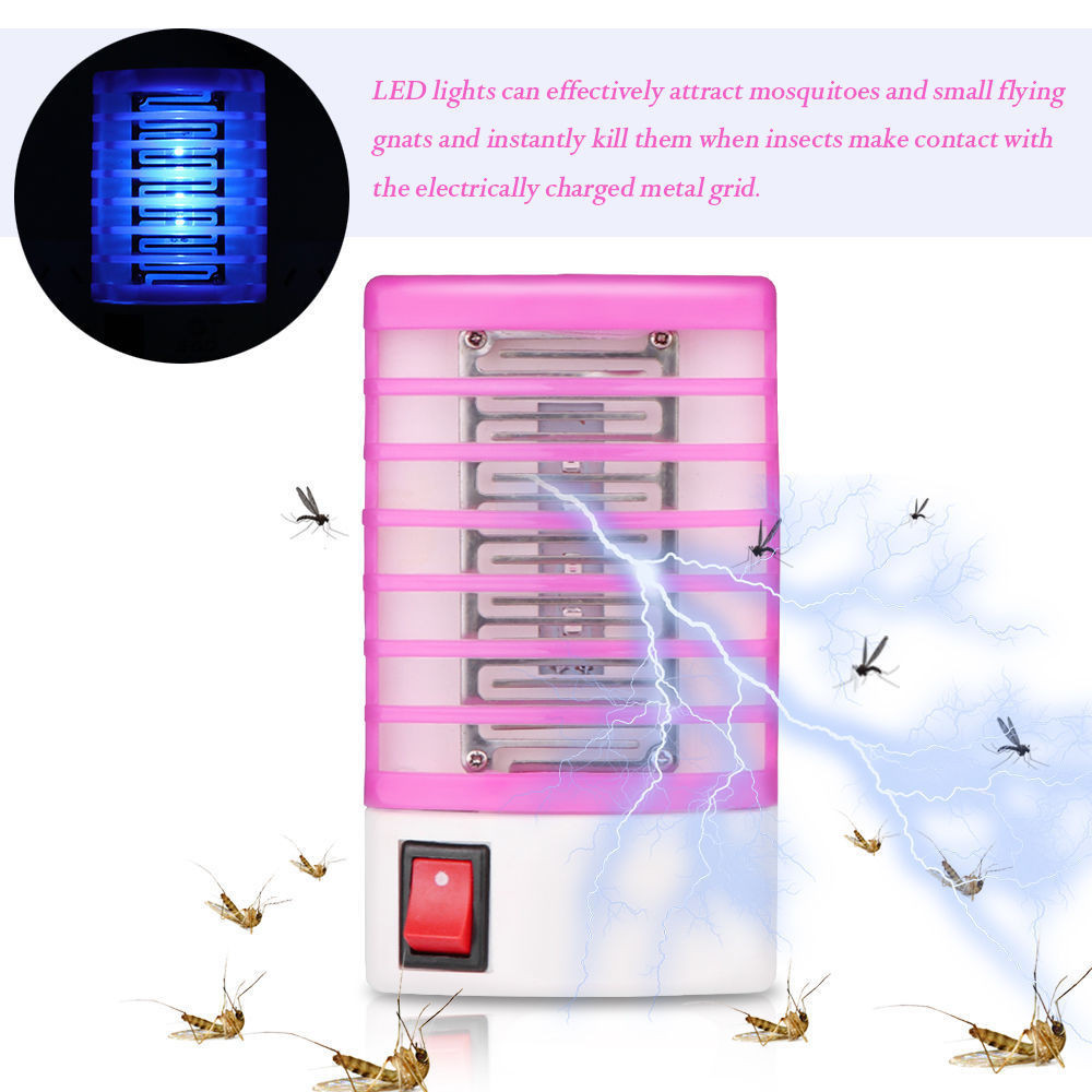 US $1 11 42% OFF|Led Socket Electric Mosquito Killer Lamp Home Lighting No  Radiation Night Repellent Fly Trap Insect Killer Mosquito Killer Light-in