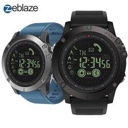 Neue Zeblaze VIBE 3 Flaggschiff Robuste Smartwatch 33-monat Standby Zeit 24 h Alle-Wetter Überwachung Smart Uhr für IOS Und Android